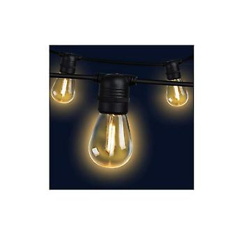 14M Led Festoon String Lights 10 Bulbs Kits S14