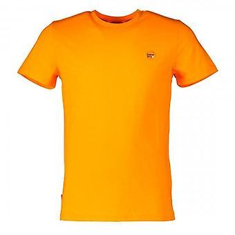 Superdry Kollektive Sortier Logo T-Shirt Ringelblume Orange 7SE