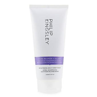 Philip Kingsley Pure Blonde/ Silver Brightening Daily Conditioner 200ml/6.76oz
