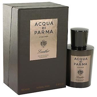 Acqua Di Parma Colonia skórzane Eau De Cologne Concentree Spray przez Acqua Di Parma 3,4 uncji Eau De Cologne Concentree Spray