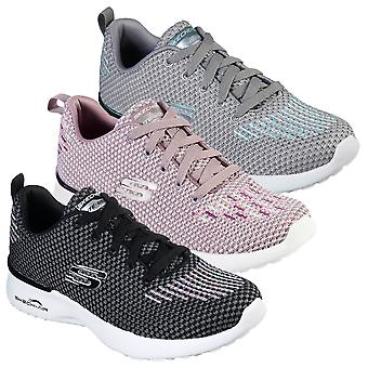 Skechers Womens 2021 Skech-Air Dynamight Flexible Memory Espam Trainers