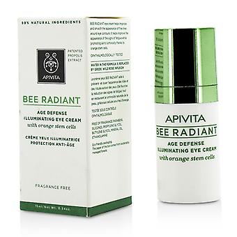Apivita Bee radiant Age de aparare iluminator crema de ochi 15ml/0.54 Oz