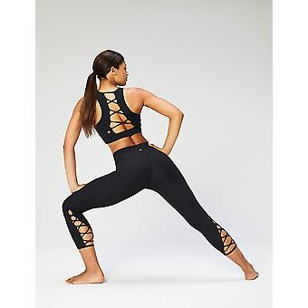 Core 10 Women's High Waist Yoga Lattice 7/8 Crop Legging - 24
