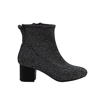 Bar III Womens Lacy Almond Toe Ankle Fashion Boots