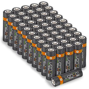 Venom power recharge - 1000mah genopladelige aa batterier (50-pack)