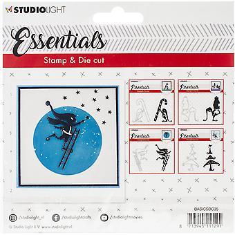 Studio Light Essentials Stämpel & Die Set-