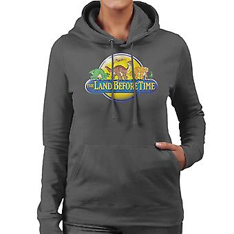The Land Before Time Logo Women's Hooded Sweatshirt