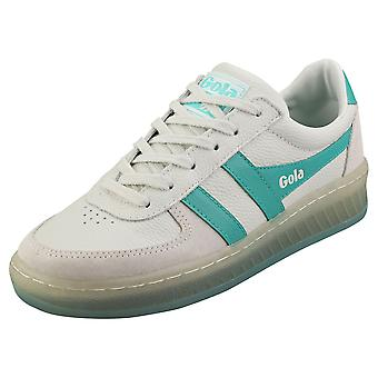 Gola Grandslam 89 donne Fashion Trainers in Off White