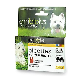 Anti-parasite Droppers for Small and Medium Dogs 2 units