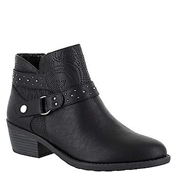 Easy Street Womens Leda Almond Toe Enkel Fashion Boots