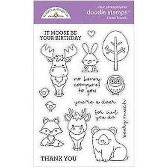 Doodlebug Design Forest Friends Doodle Timbres