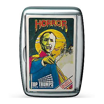 Horror 1 Retro Top Trumps Card Game
