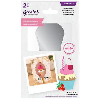 Gemini Double-Sided Die Elements Sweet Cupcake (GEM-DSD-ELE-SWE)