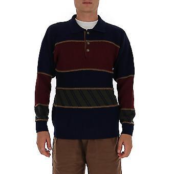 Etro 1n30496980201 Männer's blaue Wolle Pullover