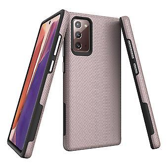Samsung Galaxy Note 20 armour tapauksessa kova suojakansi rose kulta