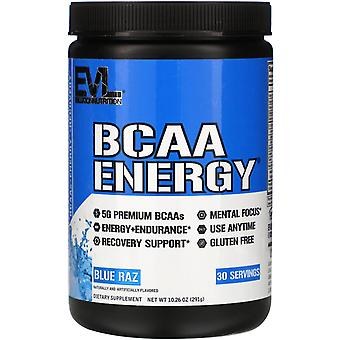 EVLution Nutrition, BCAA ENERGY, Blue Raz, 10.26 oz (291 g)