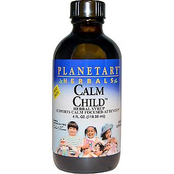 Planetary Herbals, Calm Child, Herbal Syrup, 4 fl oz (118.28 mL)