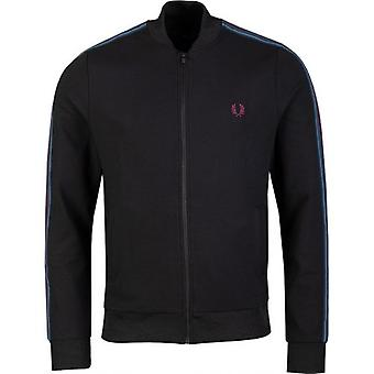 Fred Perry Authentics Taped Bomber Track Jacket