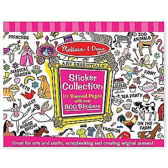 Melissa & Doug Sticker Collection - rosa