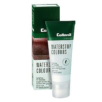 COLLONIL WATERSTOP COLOURS POLISH WATERPROOFING SMOOTH LEATHER-Dark Brown