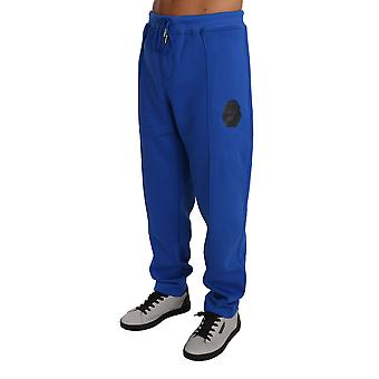 Blue Cotton Pulover Pantaloni Trening BIL1008-1