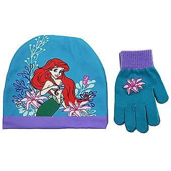 Beanie Cap - Disney - The Little Mermaid - Ariel w/Glove Set 701464