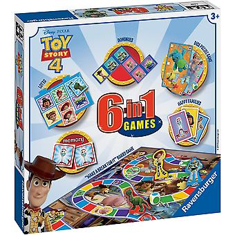 Ravensburger Toy Story 4, 6 in 1 Games Box