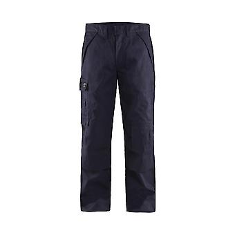 Blaklader 1724 anti-flame trousers navy blue - mens (17241516)
