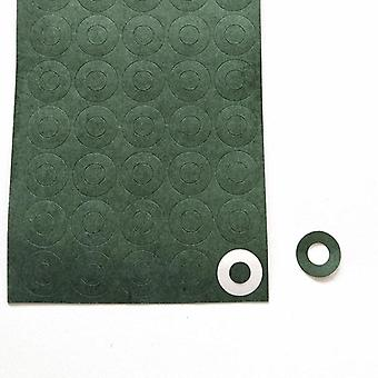 1s 18650 Li-ion Gasket Barley Paper Battery Pack Cell Insulating Glue Patch Electrode Insulated Pads