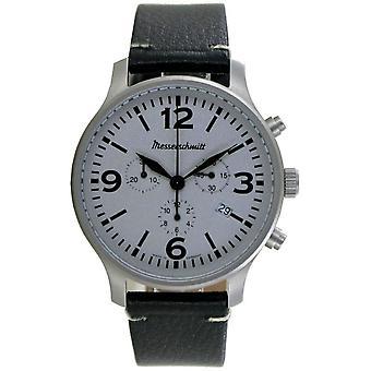 Aristo Men's Messerschmitt Watch Chronograph ME-3H203L Leather