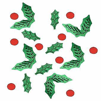 Holly Mesa Confeti Christmas Partyware 13g