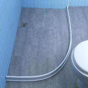 Silicone Separation Waterproof  Water Stopper, Barrier Strip For Bathroom,