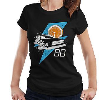 Takaisin tulevaisuuteen Delorean 138 Miles Per Hour Women's T-paita