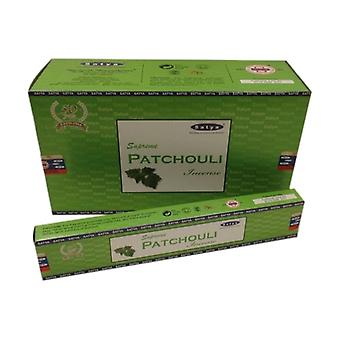 Incienso Supreme Patchouli Satya 15 g