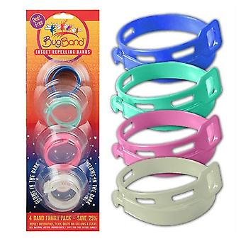 BugBand Insect Repellent Bands, 4 Count