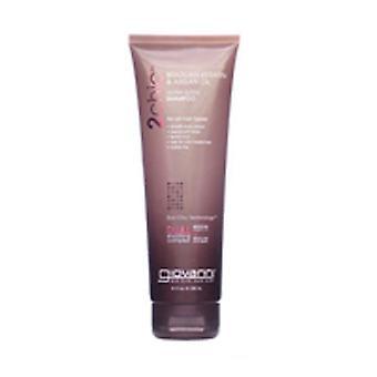 Giovanni Cosmetics 2chic Brazilian Ultra-Sleek Shampoo, Brazilian Keratin & Argan Oil 8.5 oz