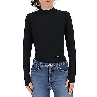 Ambush Bmad001f20fab0011000 Women's Black Nylon Sweater