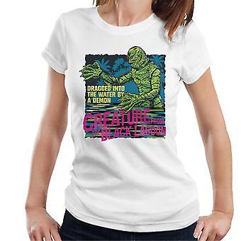 A Criatura da Lagoa Negra arrastou mulheres demoníacas'camiseta