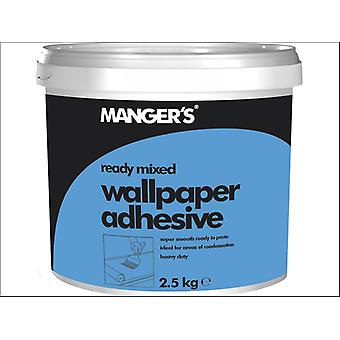 Mangers All Purpose Wallpaper Adhesive Ready mixed 2.5kg