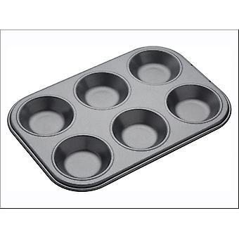 Kitchen Craft Master Class Non Stick Bake Pan 6 Hole KCMCHB59