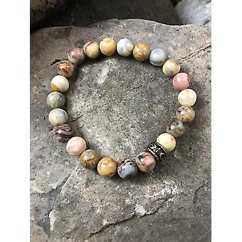 Crazy Lace Agate Armband
