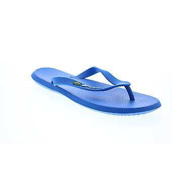 Rider R1 Rider Mens Blue Synthetic Flip-Flops Sandálias Sapatos