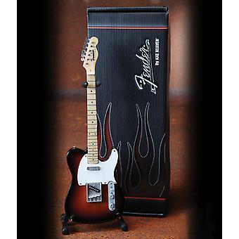 3-värinen Sunburst Telecaster Miniature Guitar USA tuonti