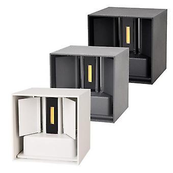 12w cob regulable moderno cubo ajustable superficie montada lámpara de pared Led