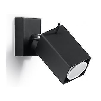 Merida væg lys sort stål 1 pære
