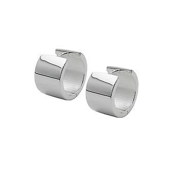 Hoop Øreringe 15x10mm Sølv 925