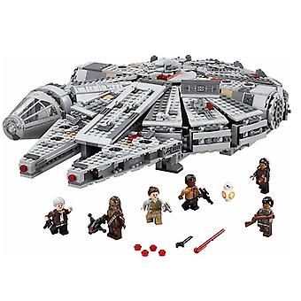 In stock Starwars 1381 Pcs Compatible Lepining Star Wars Millennium 79211 05007