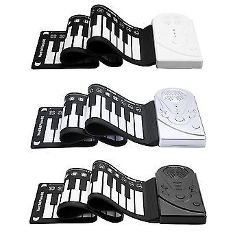49 touches flexible silicone roll up piano pliage clavier électronique pour les enfants étudiant