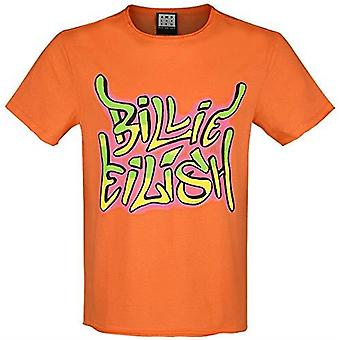 Versterkte Billie Eilish Grafitti Tag T-shirt