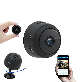 A9 1080p Wifi Mini Camera - Home Security P2p Wifi Et Remote Monitor Phone App